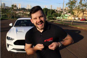 João Fusquine repórter do Vrum
