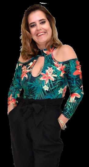 Melissa Costa apresentadora do programa Saber Viver da TV Alterosa